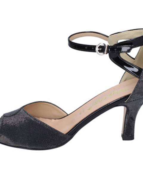 Čierne sandále Bottega Lotti