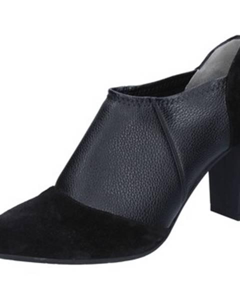 Čierne topánky Le Marrine
