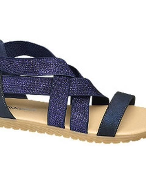 Tmavomodré sandále Graceland