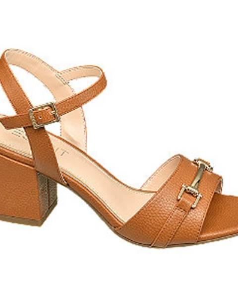 Koňakové sandále Esprit