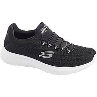 Čierne slip-on tenisky Skechers