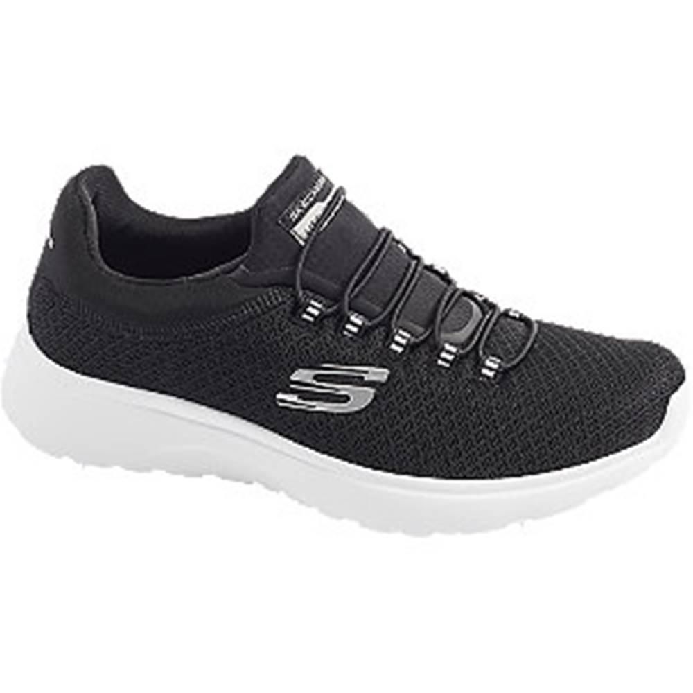 Skechers Čierne slip-on tenisky