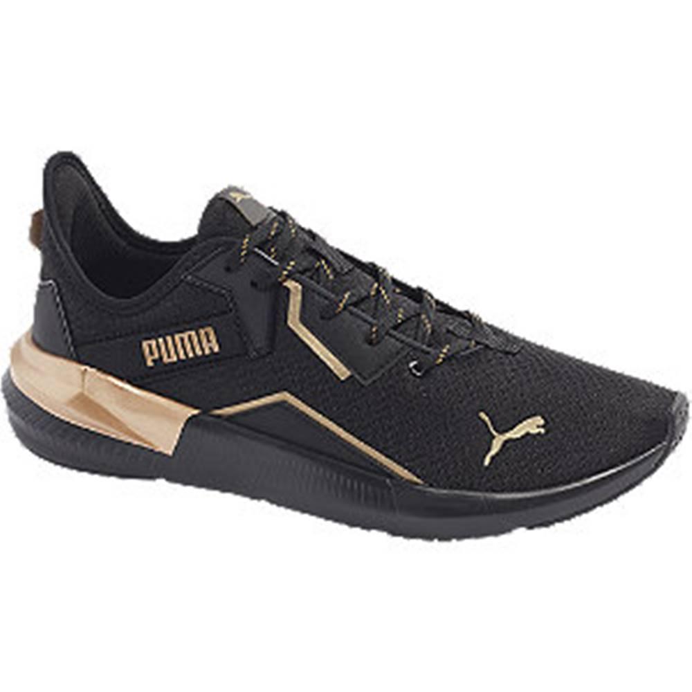 Puma Čierne tenisky  Platinum Metallic WNS