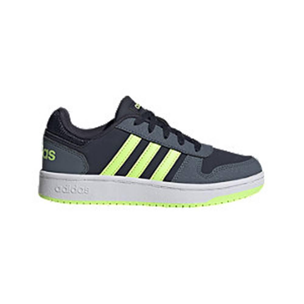 adidas Modré tenisky Adidas Hoops 2.0 K