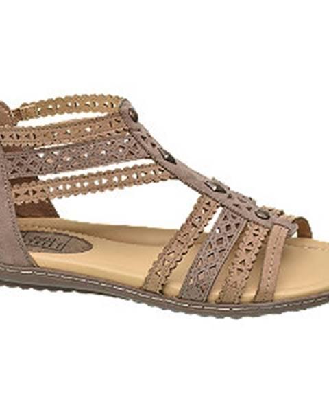 Hnedé sandále Easy Street