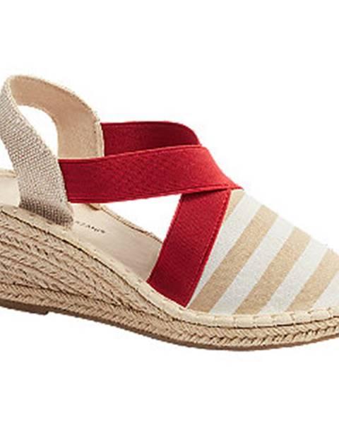 Béžové sandále Claudia Ghizzani