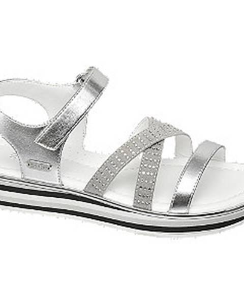 Strieborné sandále Esprit