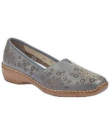 Modré topánky Rieker