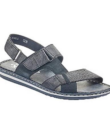 Modré sandále Rieker