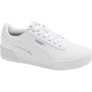 Biele tenisky Puma Carina L Shine