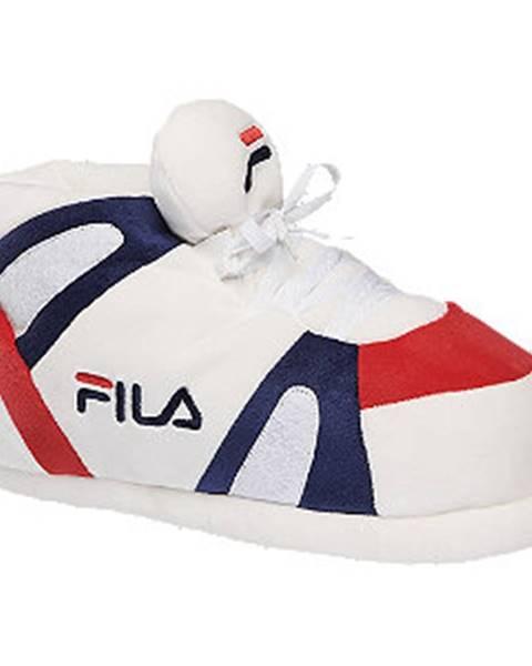 Biele papuče Fila