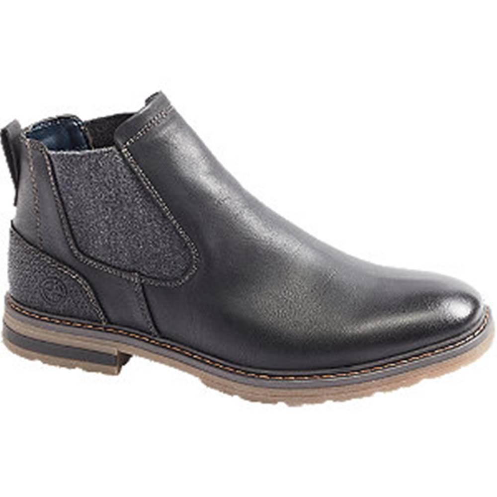 Venice Čierna členková Chelsea obuv