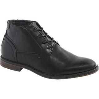 Čierna členková obuv Memphis One