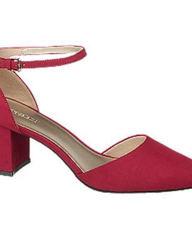 Červené lodičky Graceland