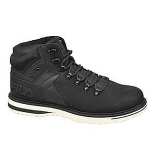 Čierna členková obuv