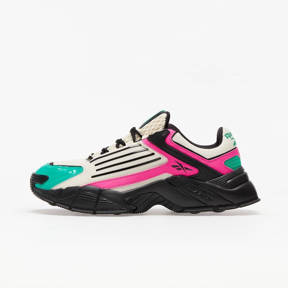 Reebok DMX Series 3000 Alabaster/ Proud Pink Court Green