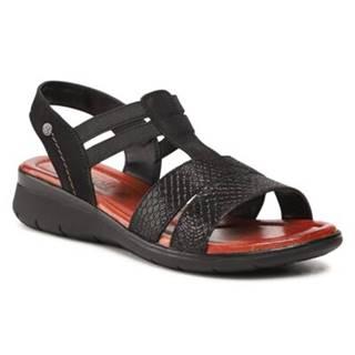 Sandále GO SOFT WI16-INES-03 Prírodná koža(useň) - Nubuk