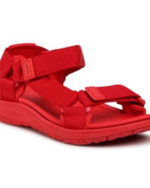 Červené sandále Sprandi