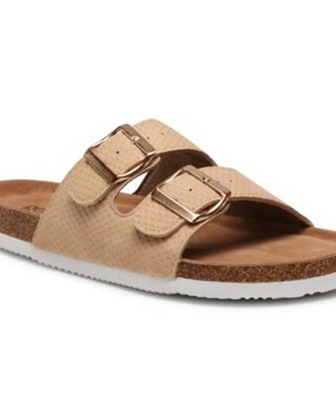 Béžové topánky GO SOFT