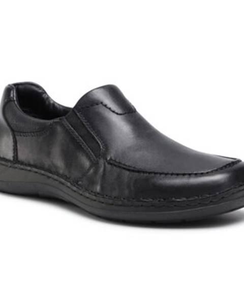 Čierne topánky Rieker
