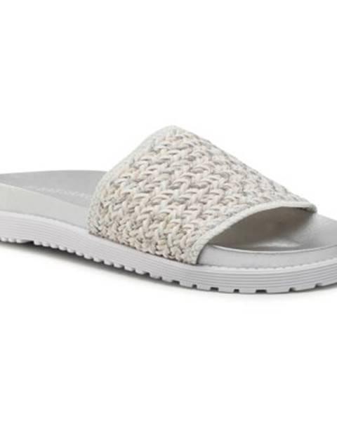 Strieborné topánky Bassano