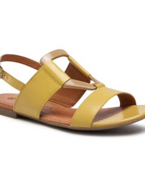 Žlté sandále Lasocki