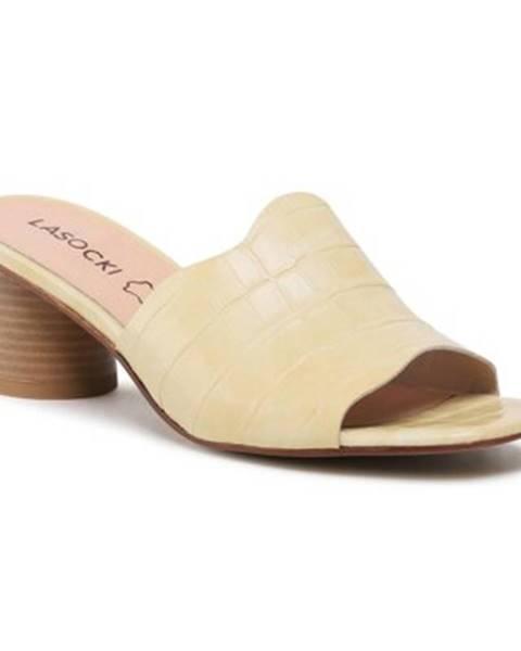 Žlté topánky Lasocki