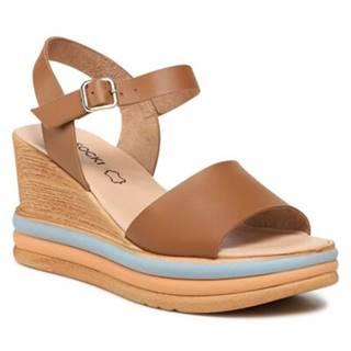 Sandále Lasocki S622 Prírodná koža(useň) - Lícova