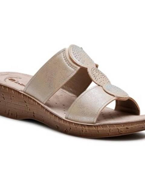 Zlaté topánky INBLU