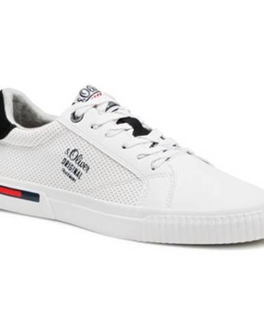 Biele topánky s.Oliver RED LABEL