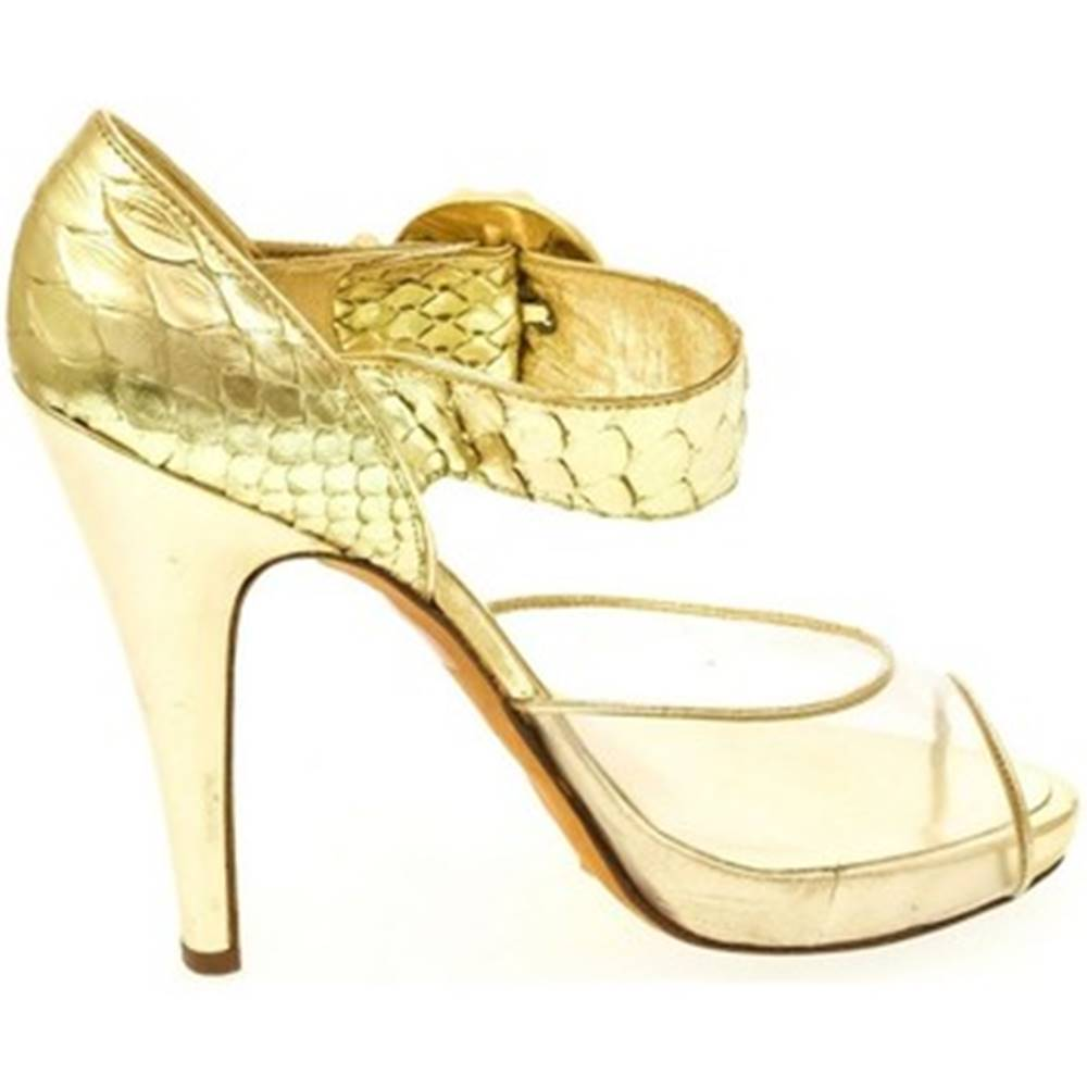 John-C Lodičky John-C  Dámske zlaté sandále HELY