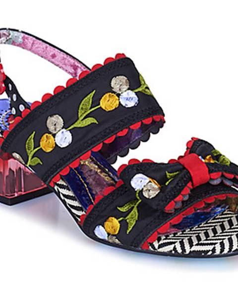 Čierne sandále Irregular Choice