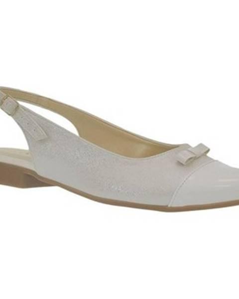 Biele sandále Just Mazzoni