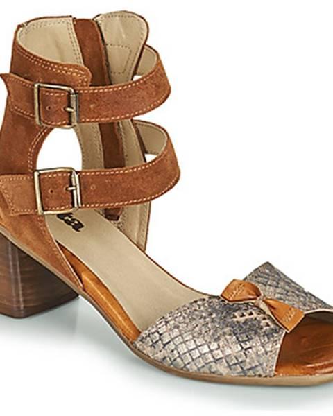 Viacfarebné sandále Casta