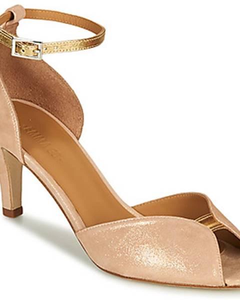 Béžové sandále Emma Go