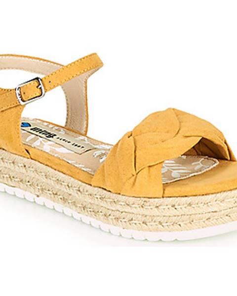 Žlté sandále MTNG