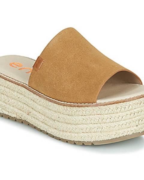 Hnedé topánky Emmshu