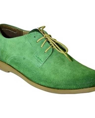 Zelené topánky Krezus