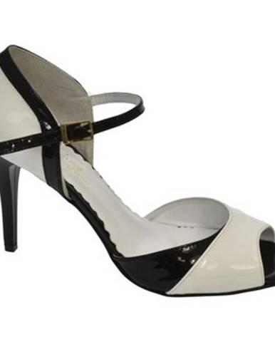 Biele sandále John-C