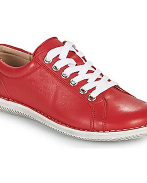 Červené topánky Casual Attitude