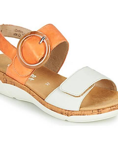 Oranžové sandále Remonte Dorndorf