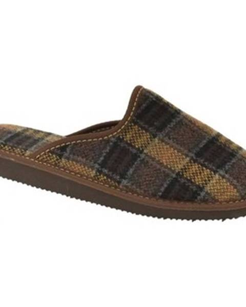 Hnedé papuče Bins