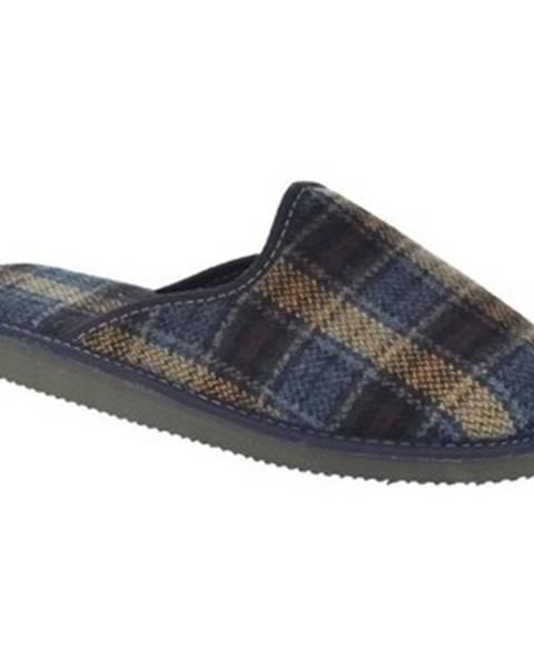 Modré papuče Bins