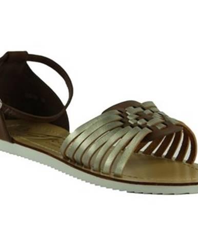 Hnedé sandále Comer