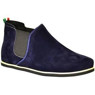 Členkové tenisky John-C  Dámske tmavo-modré členkové topánky ORIOS