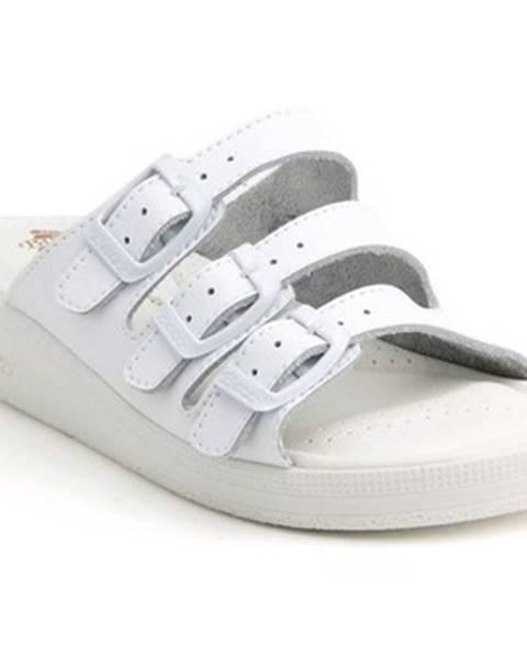 Biele sandále Batz