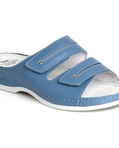 Modré topánky Batz