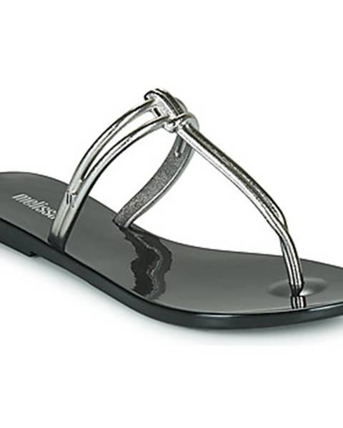 Čierne topánky Melissa
