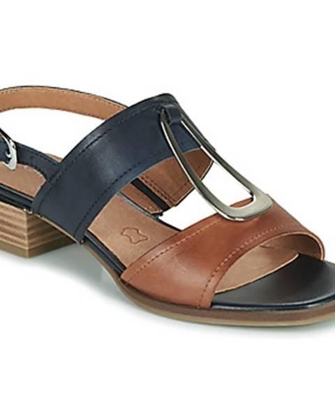 Čierne sandále Caprice