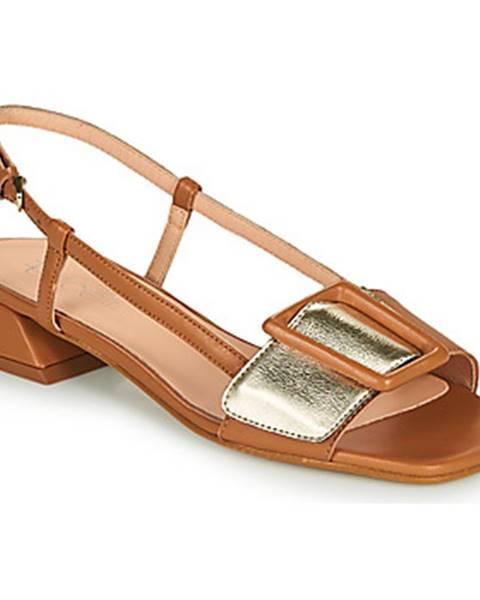 Hnedé sandále Fericelli